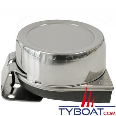 Avertisseur sonore inox - 106 db - 12 Volts