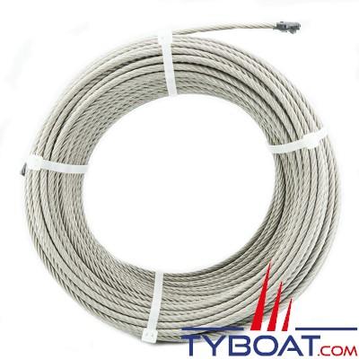 Câble inox extra souple 7x19 Ø4mm - 100 mètres