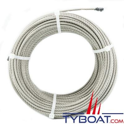 Câble inox extra souple 7x19 Ø4mm - au mètre