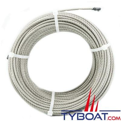 Câble inox extra souple 7x7 Ø2.5mm - au mètre