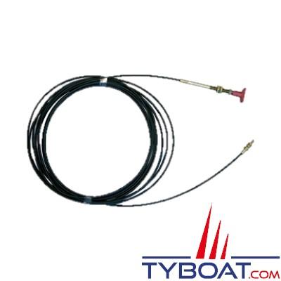Câble pour actionner vannes et extincteurs à distance - 10 mètres