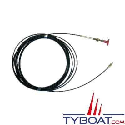 Câble pour actionner vannes et extincteurs à distance - 6 mètres