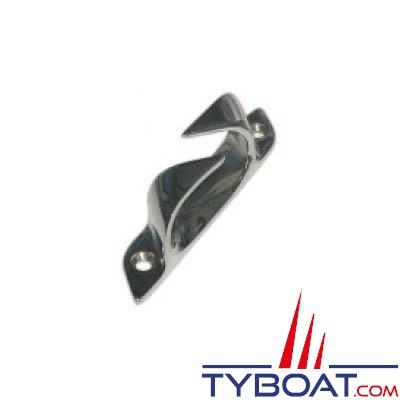 Chaumard croisé inox 150 mm pour cordage Ø 20mm bâbord