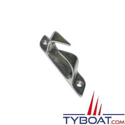 Chaumard croisé inox 150 mm pour cordage Ø 20mm tribord