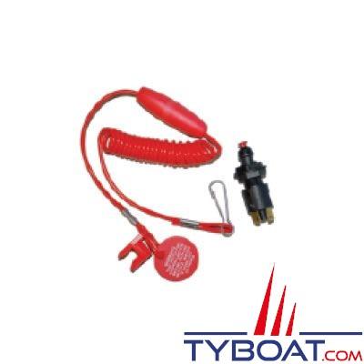 Coupe circuit flottant pour moteur Hors Bord  5A