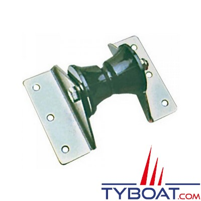 Davier de proue inox pour monter sur grande delphinière - 85 mm