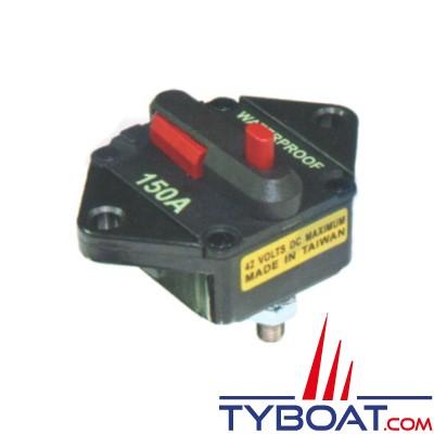 Disjoncteur thermique réenclenchable en saillie pour guindeaux et propulseurs 80 Ampères