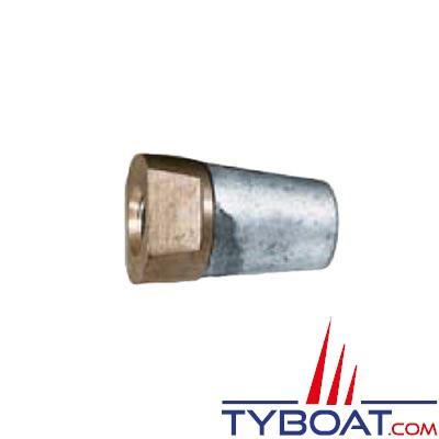 Écrou anodique Radice pour arbre d'hélice Ø 35mm (1