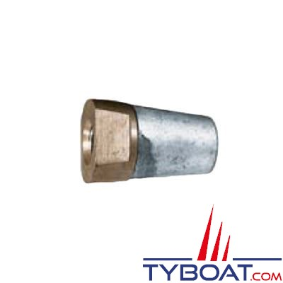Écrou anodique Radice pour arbre d'hélice Ø 45mm - 33x200mm