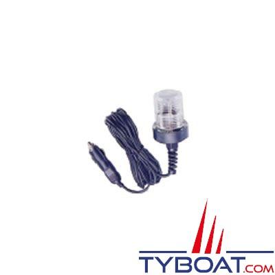 Feu portable avec prise allume-cigare 12 volts câble 3 mètres