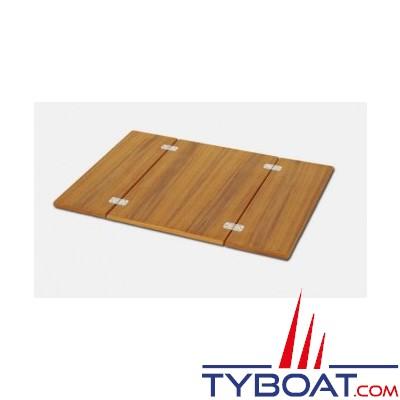 Forma - Plateau de table piable - teck - 66 x 90 cm