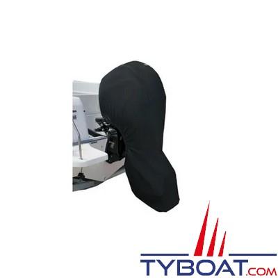 Housse complète pour moteur hors bord - Imperméable - 8/15 Hp - 1400 x 1100 mm - Noir