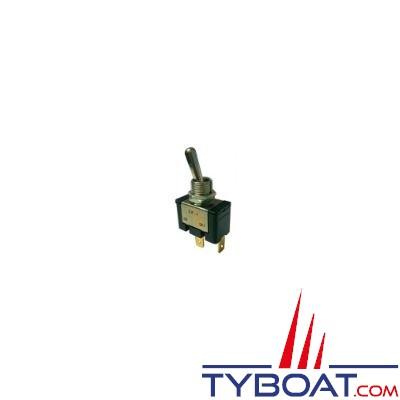Interrupteur unipolaire 2 positions on/off haute capacité 20A