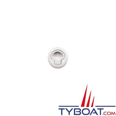 l ve panneau rond pvc blanc 60mm imnasa 44250133 tyboat com. Black Bedroom Furniture Sets. Home Design Ideas