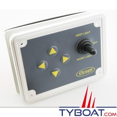 Panneau de contrôle pour projecteur de recherche 12 volts