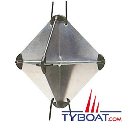 Réflecteur radar pliable 340x340 mm