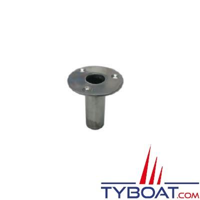 Support de lyre en inox pour passerelle pour tube Ø 25 mm
