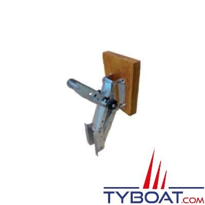Support moteur hors-bord règlable en inox pour moteurs de 6CV poids maximum 25 Kg