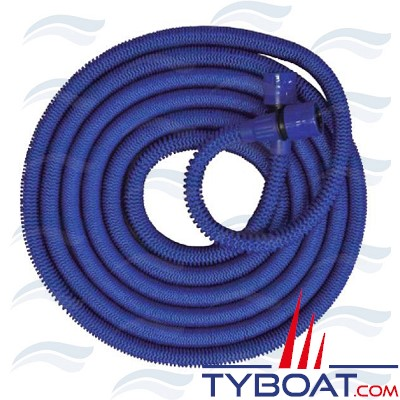 Tuyau extensible bleu 15 mètres -  Ø8 -