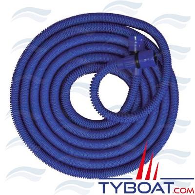 Tuyau extensible bleu 30 mètres -  Ø8 -