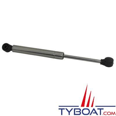 Vérin à gaz pour panneau - inox 255mm 4Kg