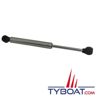 Vérin à gaz pour panneau - inox 275mm 27Kg