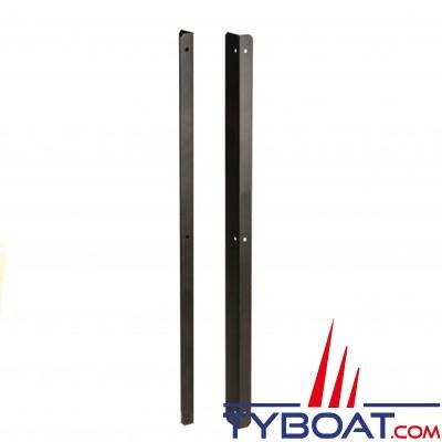 Indel Marine - Cadre d'encastrement (2 cotés) pour réfrigérateur Cruiser Classic 85L - noir