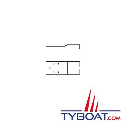 Indel - gâche poignée réfrigérateur Cruise CR130-195 - SGB00091AA