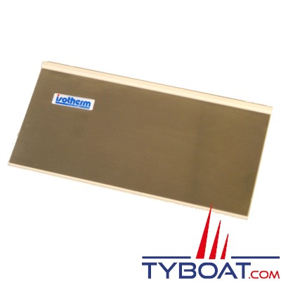 Indel SGC00131AA - Porte évaporateur pour réfrigérateur CR 49/65/85/130 inox