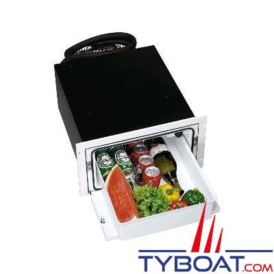Réfrigérateur tiroir encastrable INDEL - 36 litres - façade blanche - 440x250x675mm