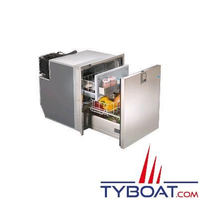 Réfrigérateur tiroir INDEL - 49 litres - façade inox - 400x530x520mm -12/24v