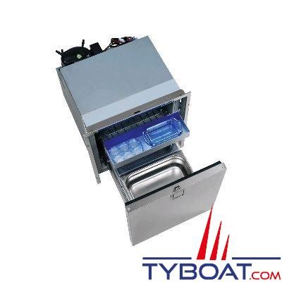 Réfrigérateur tiroir INDEL - 65 litres - façade inox - 471x530x550mm