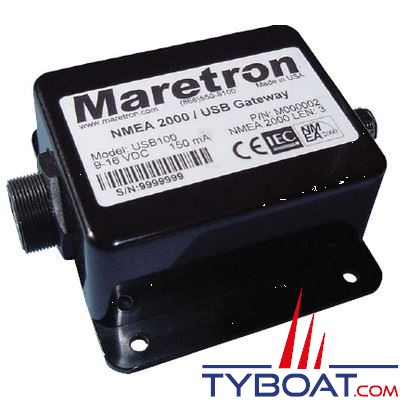 Interface Maretron NMEA2000 vers USB