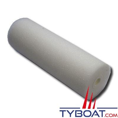 Rouleau laqueur mousse blanc 11 cm