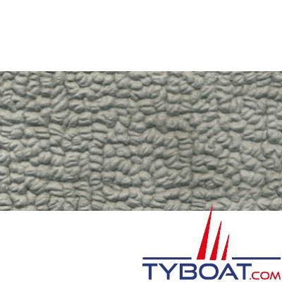 Italvipla - Revêtement en PVC Modèle Lario - Gris - Longueur 20 m x largeur 140 cm