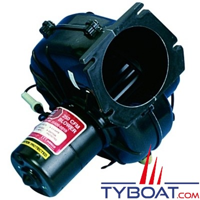 JABSCO - 34739-0010 - Aérateur - Insufflateur / Extracteur - montage sur cloison - 12 Volts - 4M3