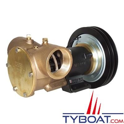 Jabsco - Pompe à embrayage électromagnétique 50270 calibre 270 - 368 litres/minute à 3 mètres à 2000 Trs/m - 24 Volts