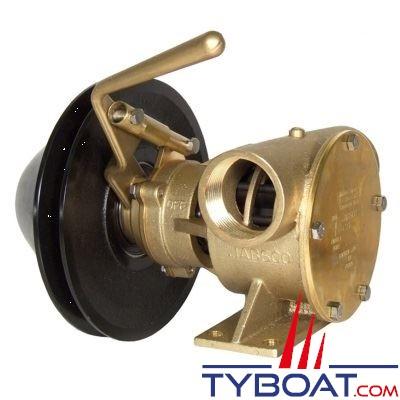 Jabsco - Pompe à embrayage mécanique 51200-2011 calibre 200 - 261 litres/minute à 3 mètres à 2000 Trs/m