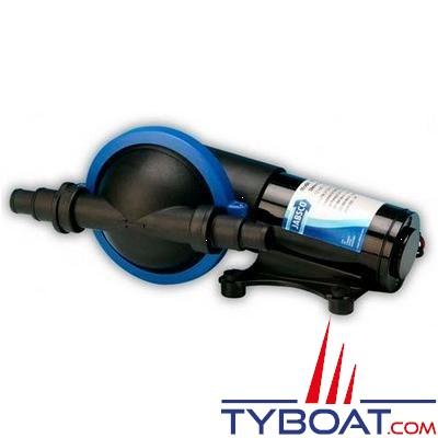 Jabsco - Pompe à membrane 50880-1100 16 L/min. 24 Volts pour tuyau Ø19 mm