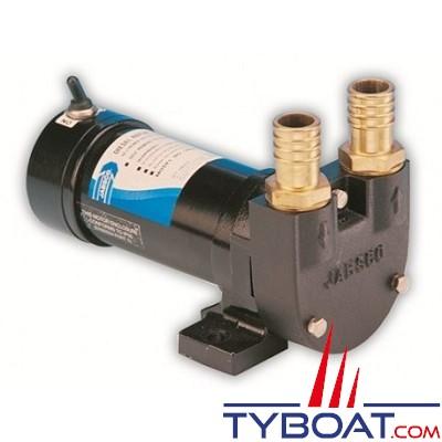 Jabsco - Pompe de transfert à palettes VR050-2120 - 52 Litres / minute - 24 Volts
