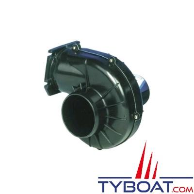 Jabsco - Ventilateur 35115-0020 - 12 Volts - 2,8m3/minute - Montage sur cloison