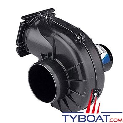 Jabsco - Ventilateur 35400-0000 - 12 Volts - 7m3/minute - Montage sur cloison