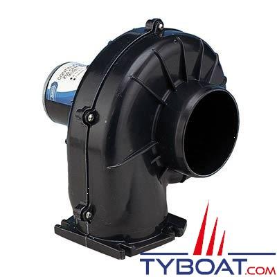 Jabsco - Ventilateur 35760-0094 - 24 Volts - 7,1m3/minute - Montage sur cloison