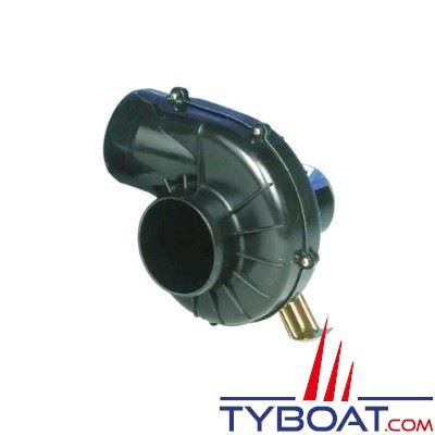 Jabsco - Ventilateur 35770-0092 - 12 Volts - 7,1m3/minute - Montage sur étrier