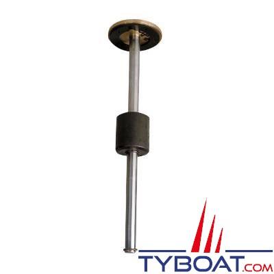 Jauge universelle eau - carburant Vetus SENSOR280 12-24V hauteur 280mm