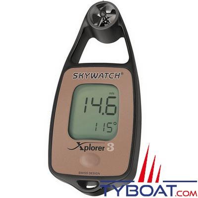 JDC - Anémomètre - Skywatch - Xplorer 3 - température / compas électronique