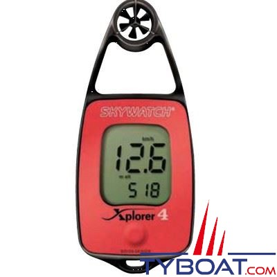 JDC - Anémomètre - Skywatch - Xplorer 4 - température - compas électronique - altimètre - pression atmosphérique