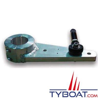 Jefa Steering - Bras de mèche allégé, avec 2 trous de 16 mm à 200 et 250mm, alésé à 35 mm