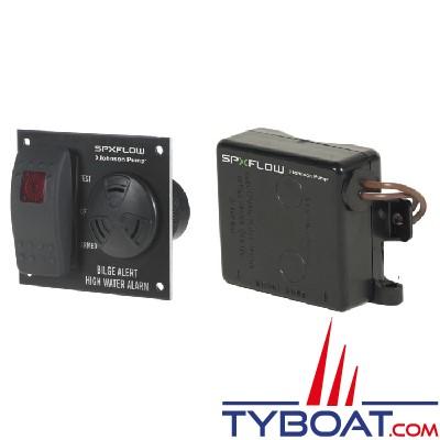 Johnson Pump - Alarme de cale, alarme de niveau d'eau avec interrupteur Ultima - 12V