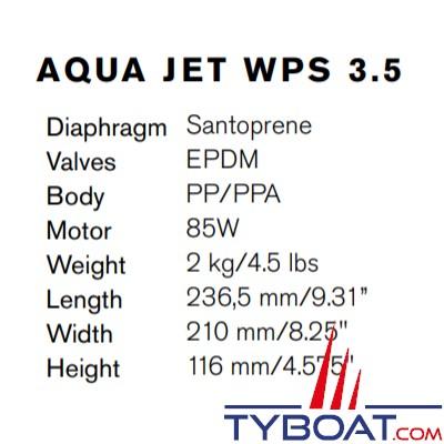 Johnson Pump - Groupe d'eau Aqua Jet WPS 3.5 - 13 Litres/minute - 24 Volts